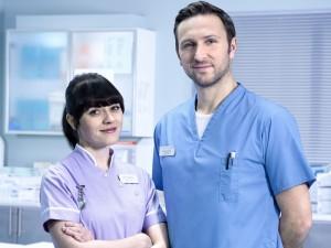 Fletch mentors Student Nurse Aoife
