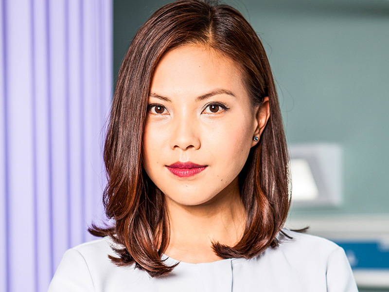 Lily Chao Holby Tv