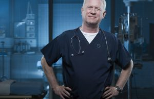 Charlie is Casualty. The only character to have appeared in all series - he is legendary.