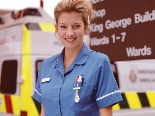 claire goose in theatre | holby.tv
